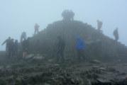 Bild: Snowdon - Gipfel-Sturm